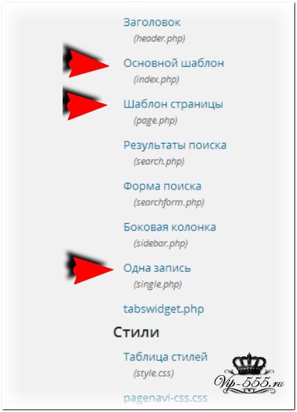 Горизонтальное выпадающее меню для WordPress